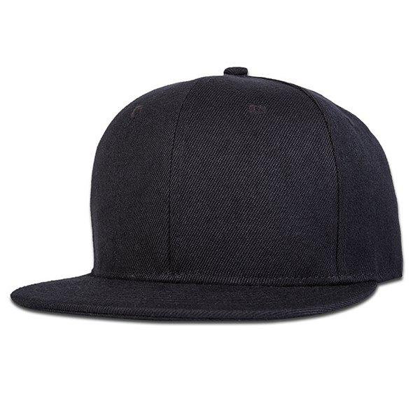 Sunscreen Casual Snapback HatAccessories<br><br><br>Color: BLACK