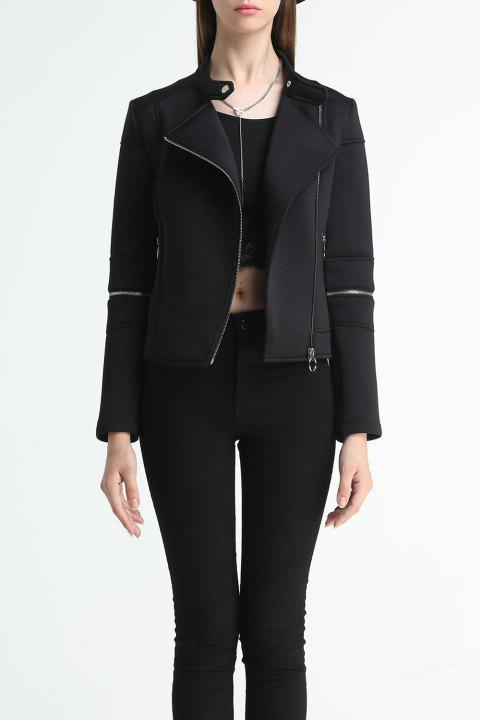 Zip court Jacket - Noir M