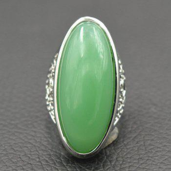 Faux Jade Ring