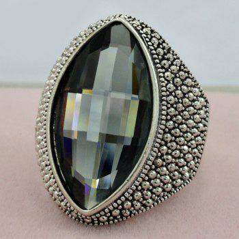 Vintage Faux Crystal Ring
