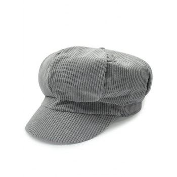 Casual Outdoor Keep Warm Corduroy Newsboy Hat