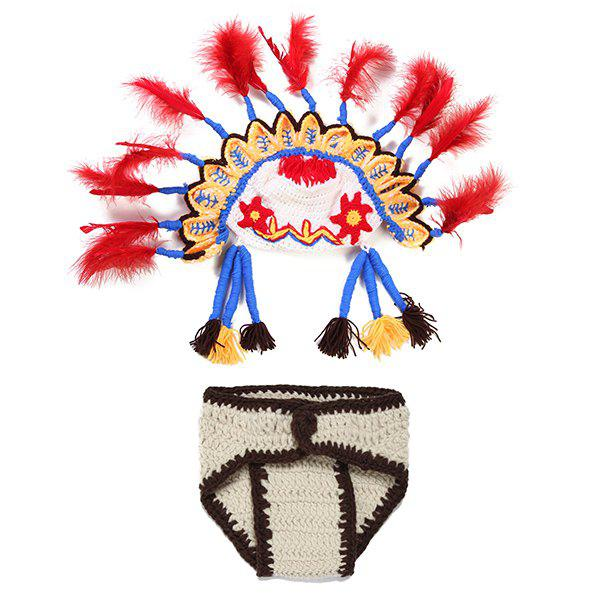 Crochet Photography Knitted American Indian Ethnic Baby Clothes Set ex machina book 2