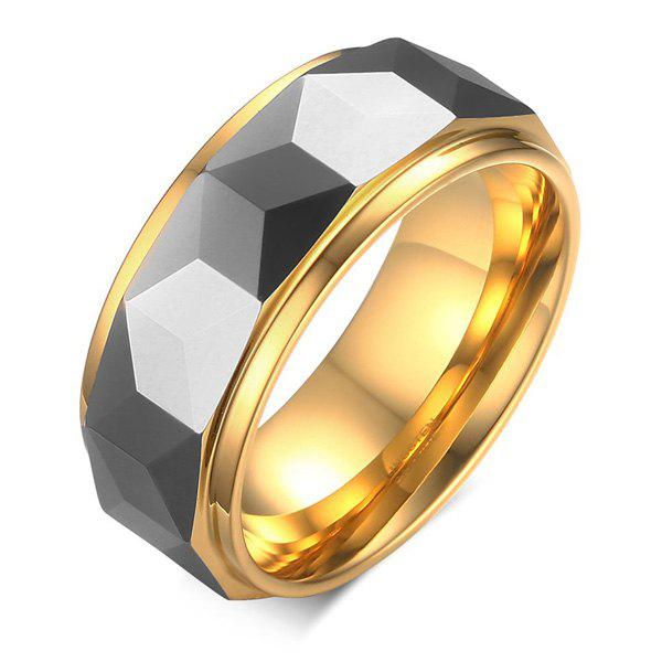 Fake Gem Tungsten Steel Ring