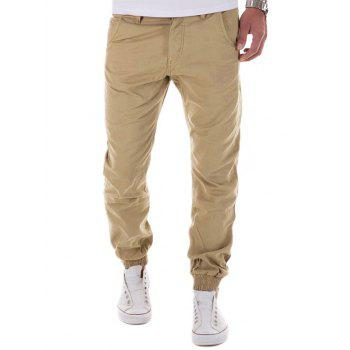 Pieds Zipper Fly Poutre surbaissé Pants Crotch design Jogger