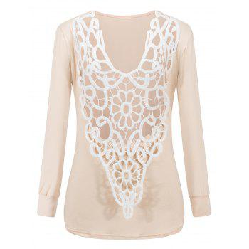 Two-Sides Wear See Through Crochet Top