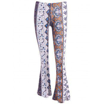 Floral Bell Bottoms Printed Pants