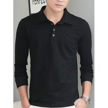 Turn-Down Collar Brief Style Polo Shirt