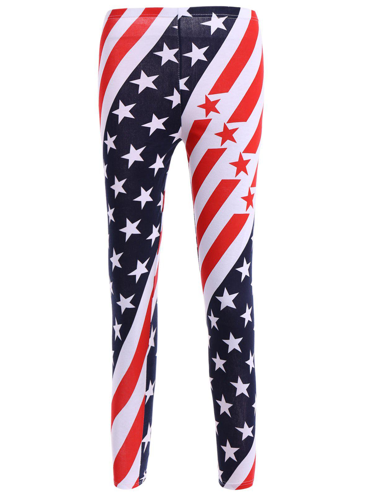 High Waisted Stars and Stripes American Flag Leggings stars and stripes flag jeans quartz watch