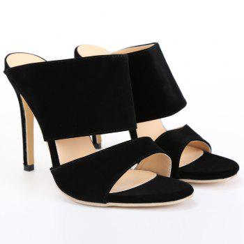 Sexy High Heels and Black Design Pumps For Women - 40 40