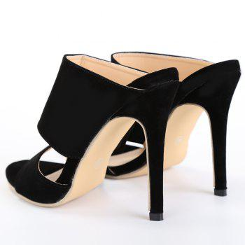 Sexy High Heels and Black Design Pumps For Women - 37 37