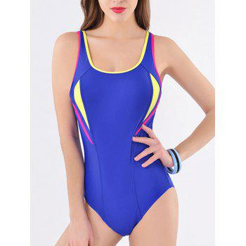 Active Hollow Out Open Back Swimwear