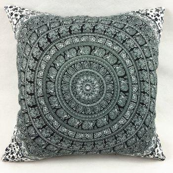 Indian Elephant Totem Double-Faced Print Pillowcase