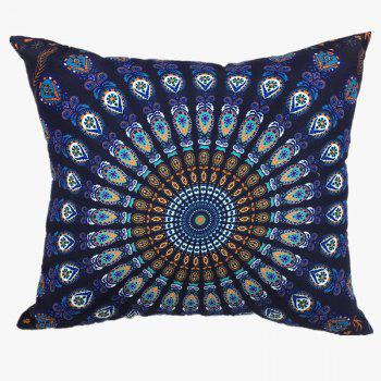 Deep Mandala Totem Double-Faced Print Pillowcase