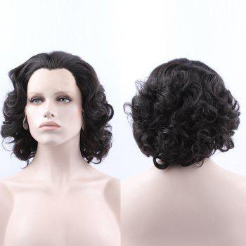 Short Curly Lace Front Synthetic Wig