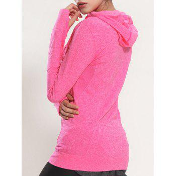 Manteau rapide Dry Sporty Hooded - rose M