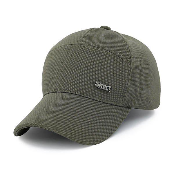 Hip Hop Sunscreen Outdoor Snapback Baseball Hat - ARMY GREEN
