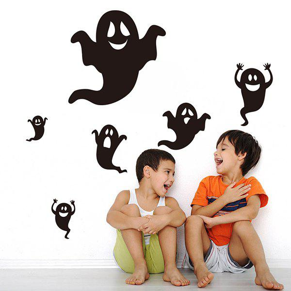Halloween Ghost Removable Waterproof Room Wall Sticker ghost tree design removable room halloween wall sticker