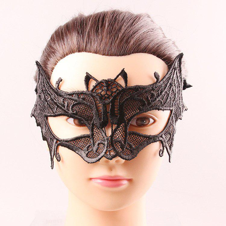 Upper Half Face Hollow Out Black Lace Carnival Masquerade Masks