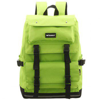 Buckle Straps Travel Backpack