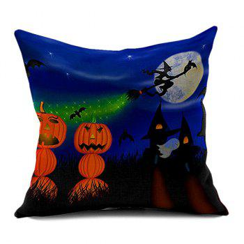 Halloween Pumpkin Vampire Sofa Cushion Pillow Case