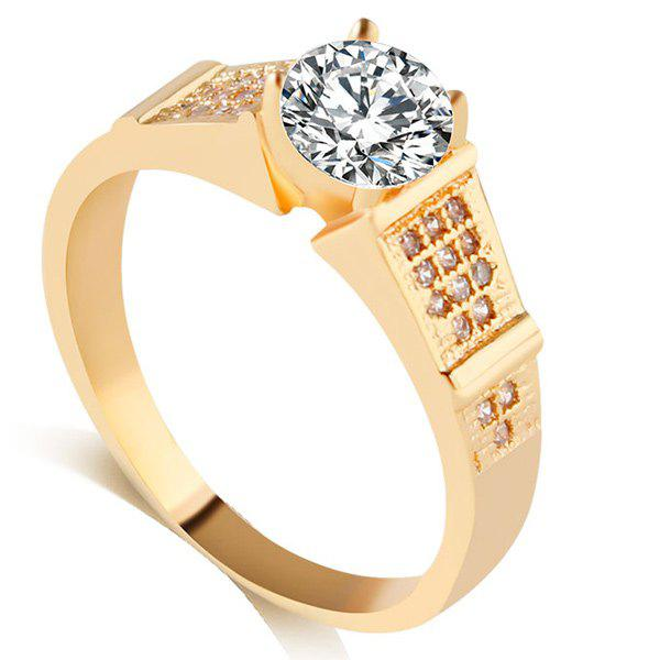 Strass bague en alliage - Or ONE-SIZE