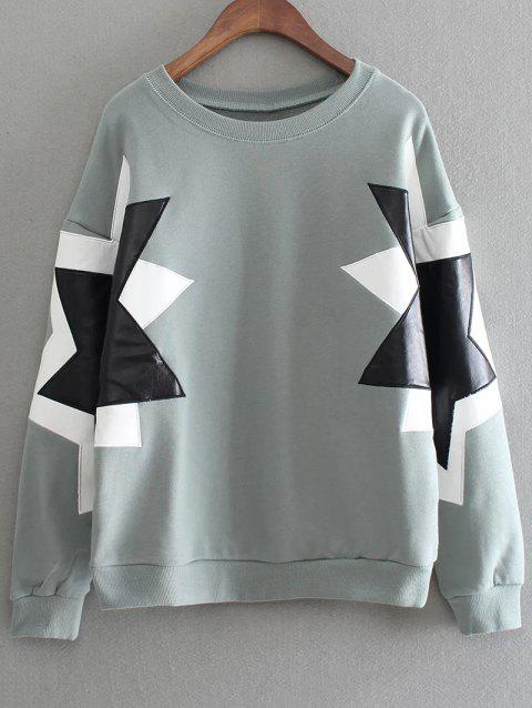 Pullover Overshirt - GREEN ONE SIZE