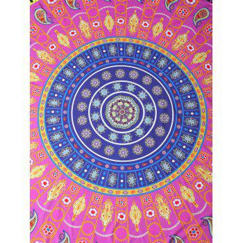 Printed Beach Throw - ROSE MADDER ONE SIZE