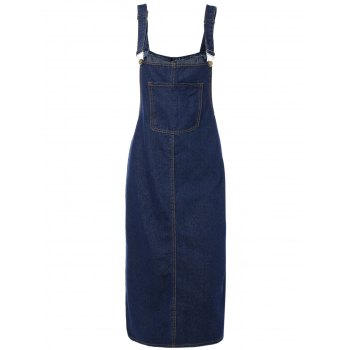 Pocket Dungaree Dress