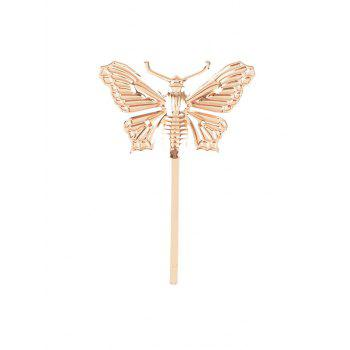 Vintage Alloy Butterfly Shape Hairpin