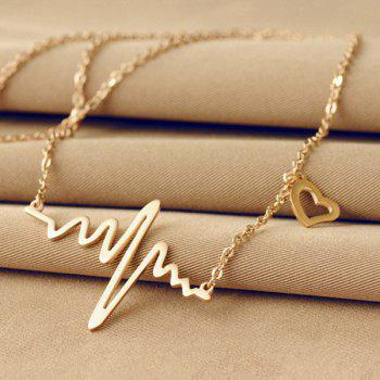 Filigree Heartbeat Necklace