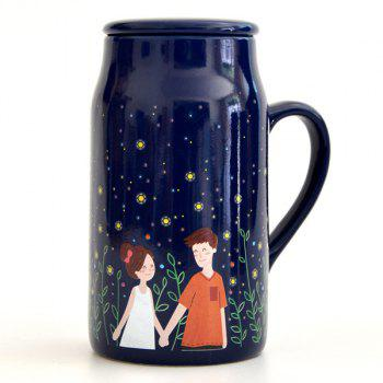 Lovers Glowworm Night Magic Color Changing Mug