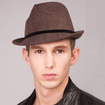 Gentleman Skinny Band Flanging Felt Jazz Hat