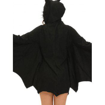 Bat Wings Costume - BLACK M