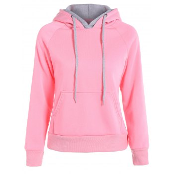 Popular Double Hooded Drawstring Hoodie