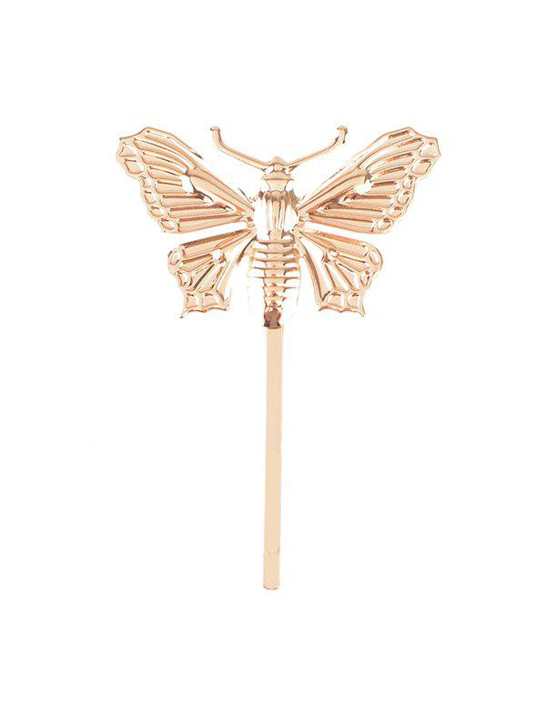 Papillon Vintage Alloy Forme Hairpin - Or
