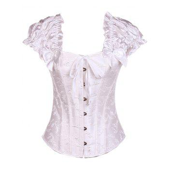 Bowknot Lace-Up Corset - M M