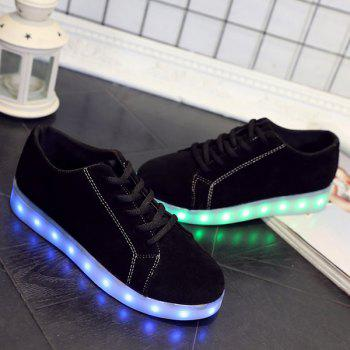 Lights Up Suede Led Luminous Athletic Shoes