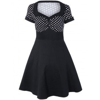 Polka Dot Vintage Flare Dress