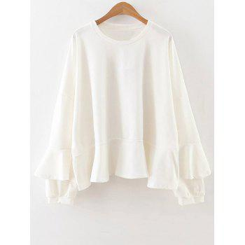 Long Sleeve Frilly Top