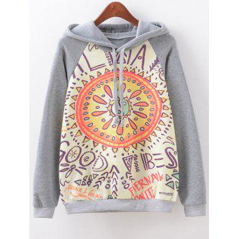 Eight Diagrams Print Hoodie