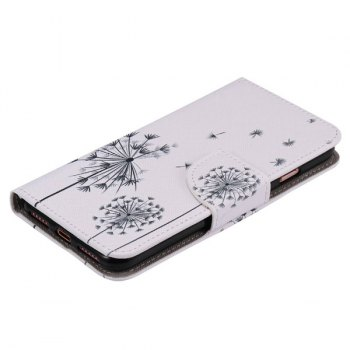 Dandelion Pattern Phone Case For iPhone 7 Plus -  WHITE