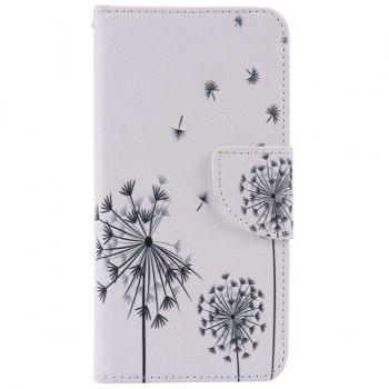 Dandelion Pattern Phone Case For iPhone 7 Plus - WHITE WHITE