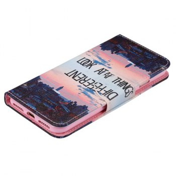 Symmetry House Wallet Design Phone Case For iPhone 7 Plus -  COLORMIX