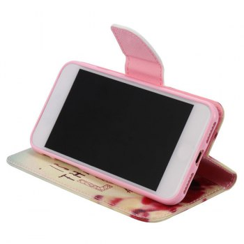 Joday Letter Wallet Design Phone Case For iPhone 7 Plus -  COLORMIX