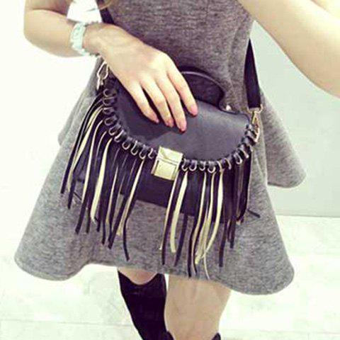 Leather Hasp Fringe Crossbody Bag the death and life of charlie st cloud film tie in