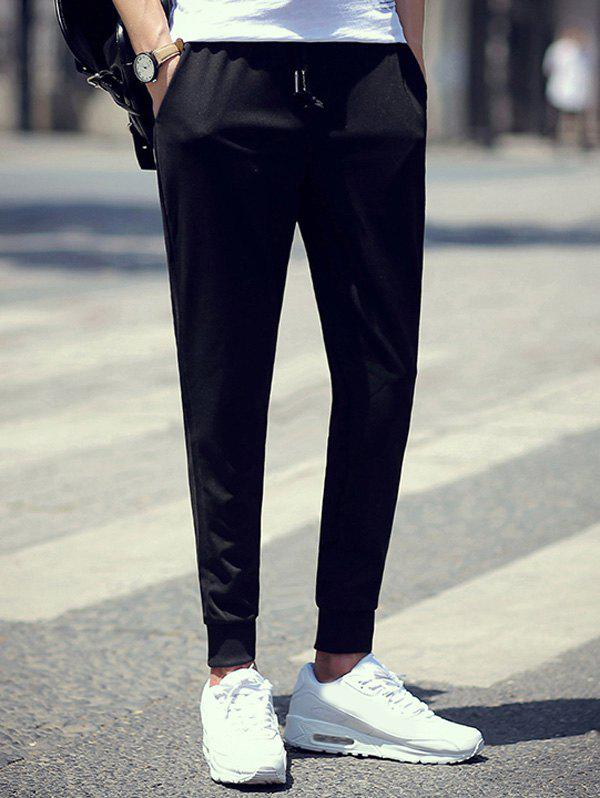 Brief Skinny Drawstring Waist Jogger Pants от Dresslily.com INT