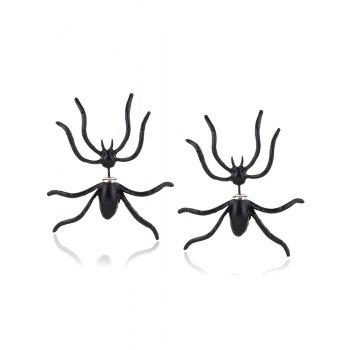 Punk Spider Shape Stud Earrings