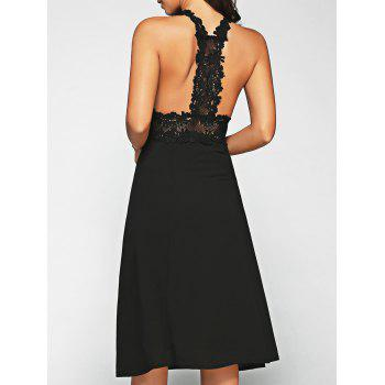 Lace Racerback Midi Dress