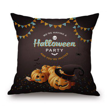 Pumpkin Design Sofa Cushion Halloween Pillow Case