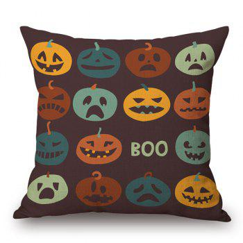 Pumpkin Grimace Car Sofa Cushion Halloween Pillow Case